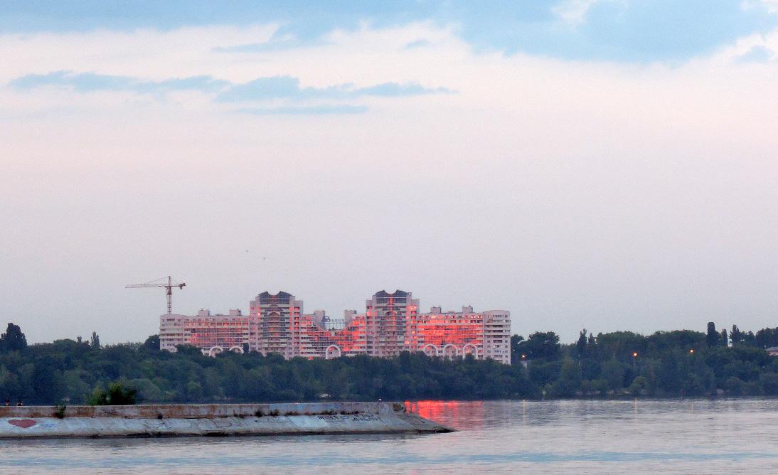 Район остановки Ильича. Воронеж